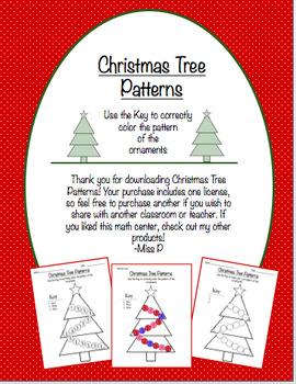 Christmas Tree Patterns