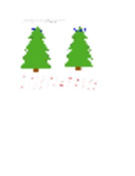 Christmas Tree Sight Words