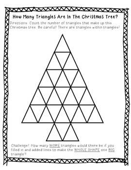 Christmas Tree Triangles