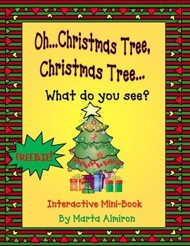 Christmas Tree...What Do You See? Free Mini-Book
