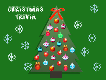 Christmas Trivia (PowerPoint) Template-Revised