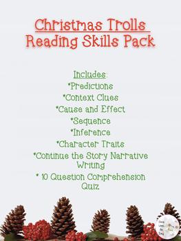 Christmas Trolls Reading Skills Pack (2nd-4th)