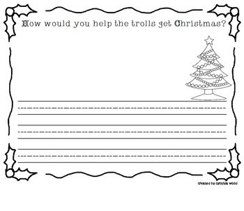 Christmas Trolls Writing Prompt