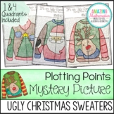 Christmas Ugly Sweaters Plotting Points - Mystery Picture