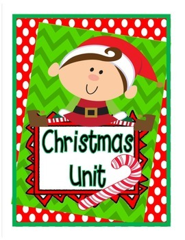 Christmas Unit: ChristmasActivities, Christmas Games and C