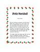 Christmas Vocabulary Board Game- Spanish