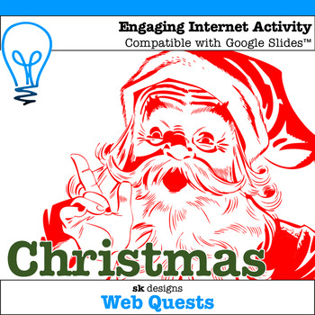Christmas WebQuest - Engaging Internet Activity