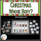 Christmas Whose Body? Board + Puzzle cards