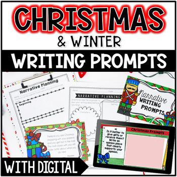 Christmas & Winter Common Core Writing: Opinion, Informati