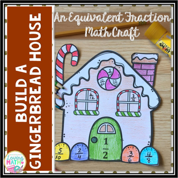 Christmas / Winter Math Craft | Equivalent Fractions