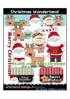 Christmas Wonderland Clipart Collection