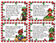 Christmas Word Problems Game, Worksheets, Helper Hand Out,