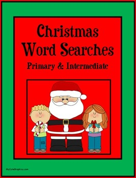 Christmas Word Searches - Primary & Intermediate