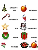 Christmas Word Wall Labels