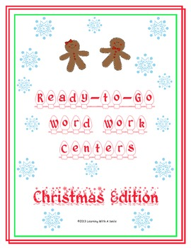 Christmas Centers ~ Effective and Stress-Free Literacy Cen