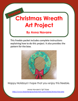 Christmas Wreath Art Project