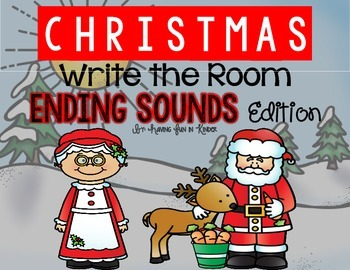 Christmas Write the Room Ending Sounds Edition