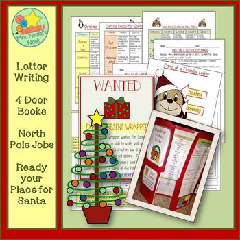 Christmas Writing Activities - Letter Writing, Descriptive