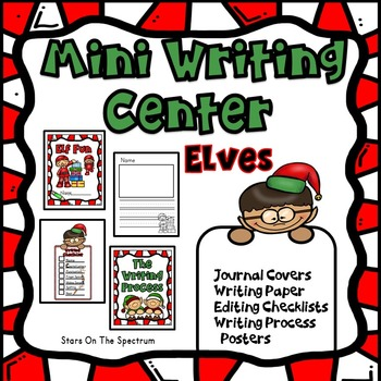 December Activities Christmas Elf Writing Center