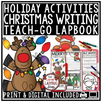 Christmas Writing Lapbook