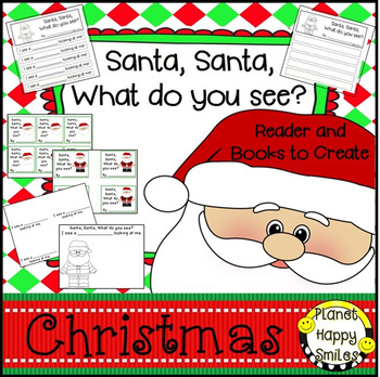 Christmas Activity ~ Santa, Santa What do you see? Writing