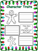 Christmas Writing Activity: Write a Gingerbread Man Charac