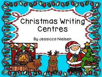 Christmas Writing Centres