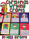 Christmas Writing Crafts Bundle (14 NO PREP Writing Activities)