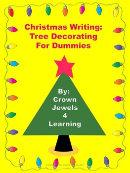 Christmas Writing:  Tree Decorating for Dummies, SmartBoar