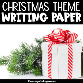 Christmas Writing Paper Free
