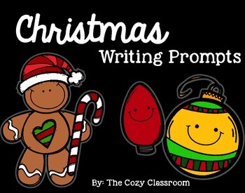 Christmas Writing Prompts for Grades 1-2
