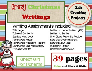 Christmas Writing Unit
