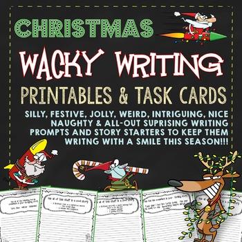 Christmas Writing (Wacky Narrative Writing Christmas)
