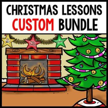Christmas YOU Pick Bundle: Math, Reading, Writing, Cooking