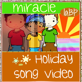 Christmas Chanukah Song Video: Whimsy Workshop Art