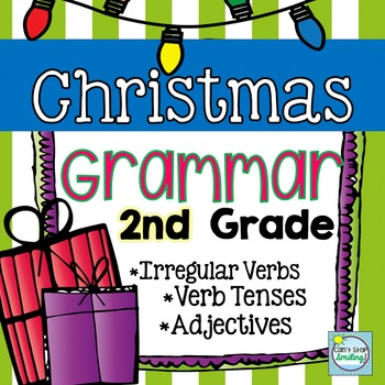 Christmas Activities ~ Christmas Grammar 2nd Grade ~ Gramm