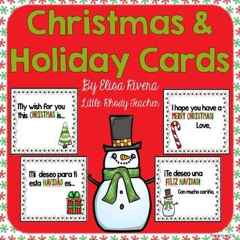 Christmas and Holiday Cards