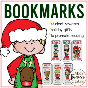 Christmas and Winter Bookmark Set