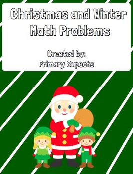 Christmas and Winter Math Story Problems