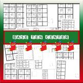 Christmas-base ten frames-festive clipart