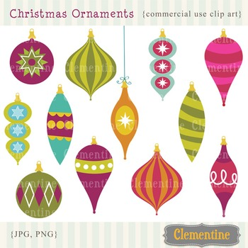 Christmas clip art images, Christmas ornament clip art