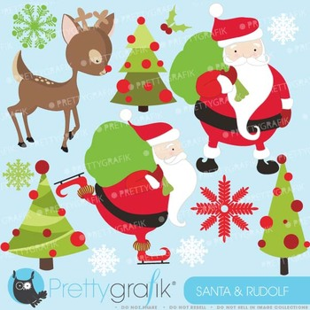 Christmas clipart commercial use, vector graphics, digital