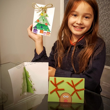 Christmas crafts printable Christmas Make Your Own cards