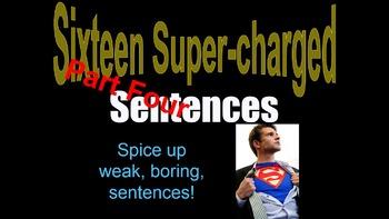 PART FOUR Sentence Variety Powerpt. w/ Video Clips Grade 5