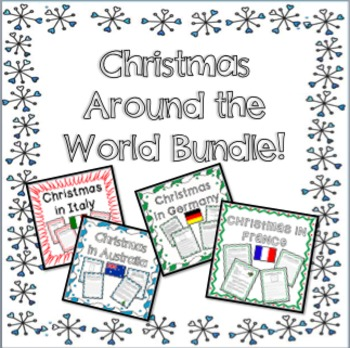 Christmas in Around the World BUNDLE - Texts, Questions, a