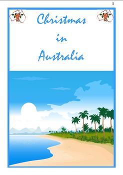Christmas in Australia Flip Book