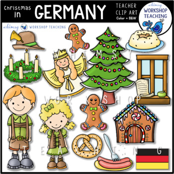 Christmas in Germany Clip Art