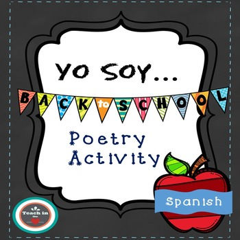 "Spanish ""I am"" poetry activity"