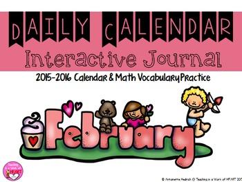 Calendar Journal~ February