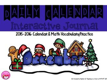 Calendar Journal ~ December